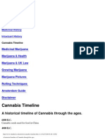 Historical Timeline of Cannabis Through the Ages