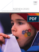 Olympic Agenda 2020 Recommendations
