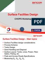 Chops Workshop_september 2005_surface Facilities Design