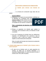 ABC de Las Licencias de Conduccion- 28-05-2013