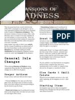 Mansions of Madness - Fully Revised Scenarios v1-3