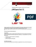 LSF'15 Invitation