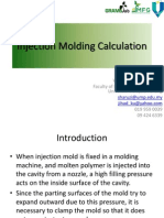Injection Molding Calculation