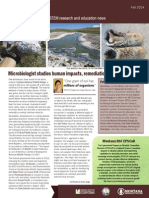 Montana NSF EPSCoR Newsletter Fall2014