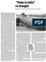 Submarine Make in India