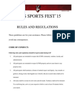 LSF'15 Rules&Regulations