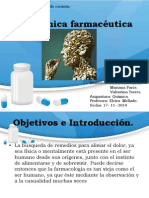 quimica farmaceutica