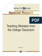 Teaching Mistakes Special Report1