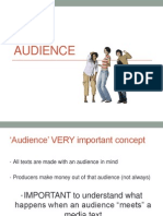 Intro to audience