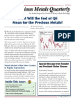 Precious Metals Quarterly