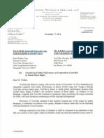 Letter to Kent Walker _ You Tube 2014.11.17