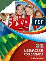 Legacies for Canada - FR
