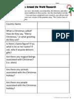 christmasaroundtheworldresearchprojectdaysofchristmas packet