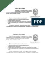 Mitos Ficha de Trabalho - Biologia 12º Ano