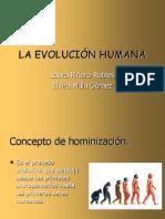 La Evolucion Humana Laura Pinero y Elvira Mula1