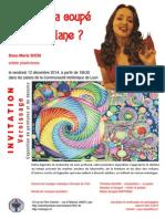 Invitation Vernissage 12 Déc 2014
