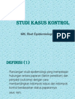 Study Kasus Kontrol