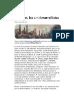 Nosotros los antidesarrollistas-Miguel Amorós