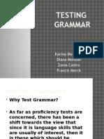 testing grammar