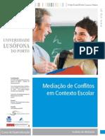 Curso Mediacao Conflitos Contexto Escolar
