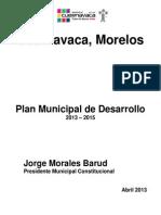 PMD CUERNAVACA 2013 2015 Abril 16 Con Anexos Congruencia