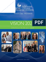 Vision 2020 | Strategic Plan 2011-2020
