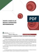 DISEÑO Curricular 2011
