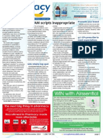 Pharmacy Daily for Wed 19 Nov 2014 - 30% AM scripts inappropriate, Guild fights back on Comp Review, 57% GPs prescribe to meet expectations, Future of pharmacy, and much more