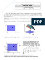 Apostila de Calculo III Integral Dupla
