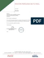 Fecha de las nuevas elecciones en la FPF