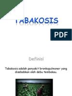 Tabakosis