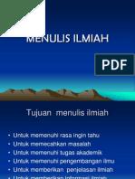 MENULIS-ILMIAH