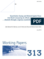 Qe and Related Capital Flows Into Brazil