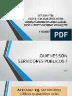 Diapositivas Servidor Publico