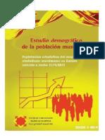 Estudio Demográfico de La Población Musulmana