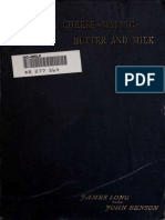 Cheese and Cheese-making, Butter and Milk, With Special Reference to Continental Fancy Cheeses