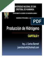 CLASE 07 - Hidrogeno