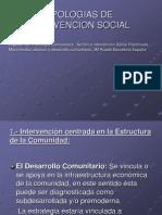4.- Tipologias de Intervencion Social