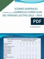 consideracionesgeneralesparaeldesarrollocurriculardelperiodo-130501191845-phpapp01