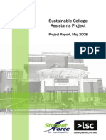 Sustainable Colleges Project Report 07-08