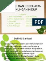 Sanitasi Dan Kesehatan Lingkungan Hidup Ppt