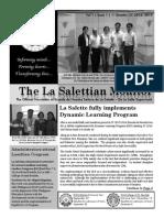 La Salette Dagupan Newsletter 1stQ SY14-15