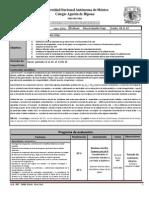Plan y Programa de Eval Quimica III 3p 14-15