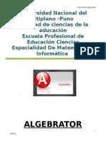 Manual algebrador