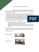 Informe Proceso de Secado En la industria lechera