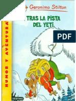16 - Geronimo Stilton - Tras La Pista Del Yeti