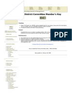 District Committee Key