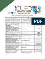 Artículos Aceptados Como E-Ponencias CLED2014