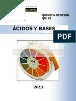 Acidos y BASES - Pedro de Valdivia