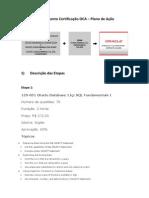Planejamento Certificação OCA